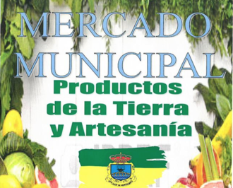 Mercado Municipal. Productos de la tierra, junio 2017